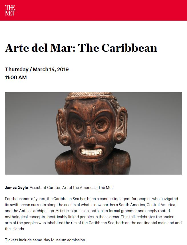 TALK: Arte del mar: The Caribbean
